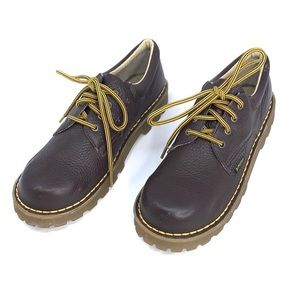 Doc Martens Shoes Leather England Lace Oxford